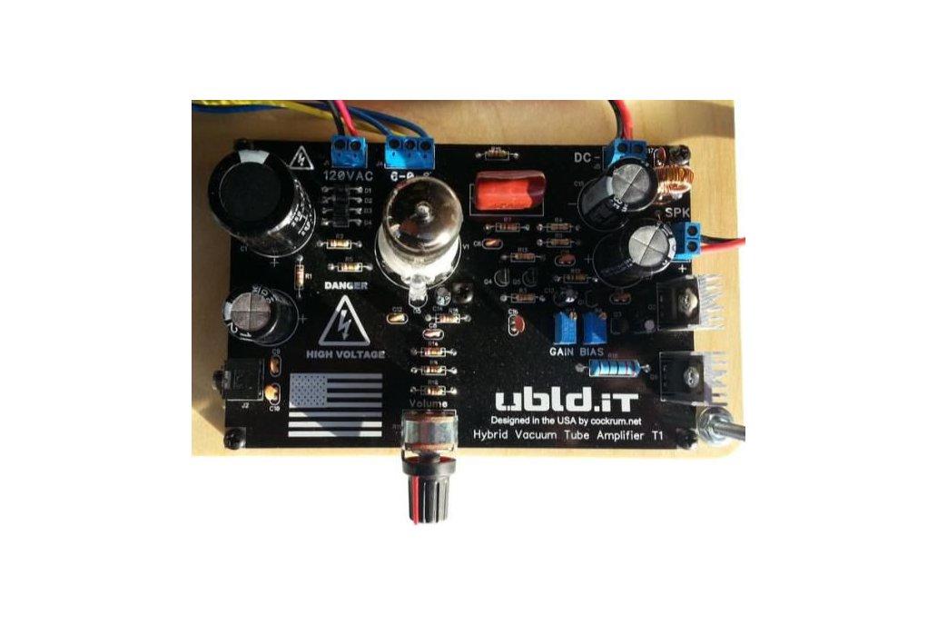 Hybrid Vacuum Tube Audio Amplifier 5