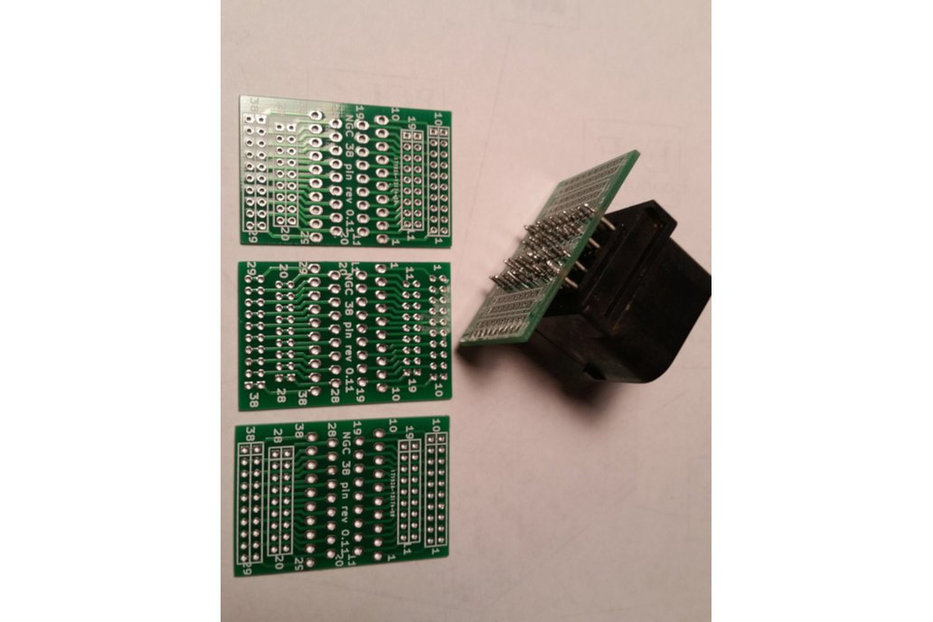 NGC 38 pin connector board for Chrysler - set of 3 1