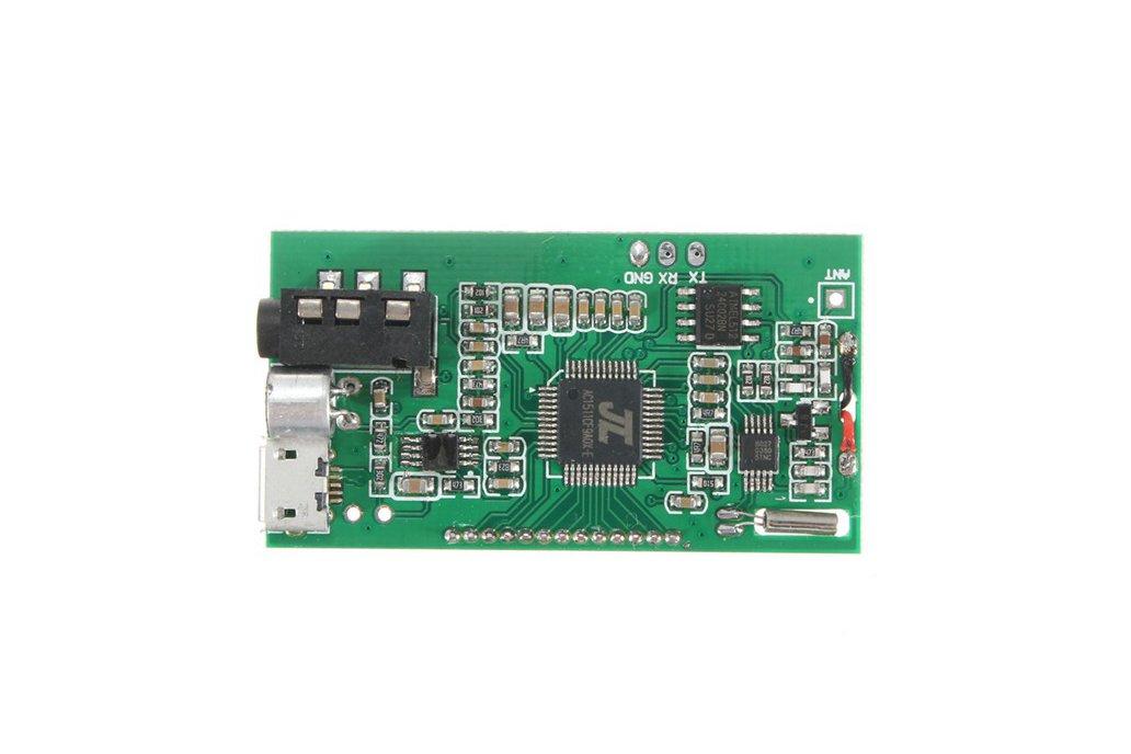 DSP PLL FM Transmitter Module - USB/Aux-In - 100mW 9