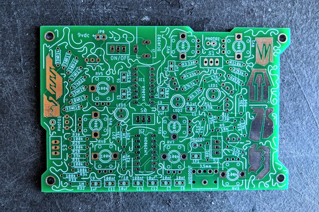 Krill Block: Drone Synth PCB