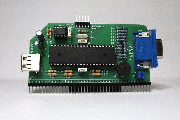 VGA Serial Terminal Kit for RC2014