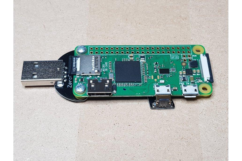 Solderless Zero Dongle for Raspberry Pi Zero 1