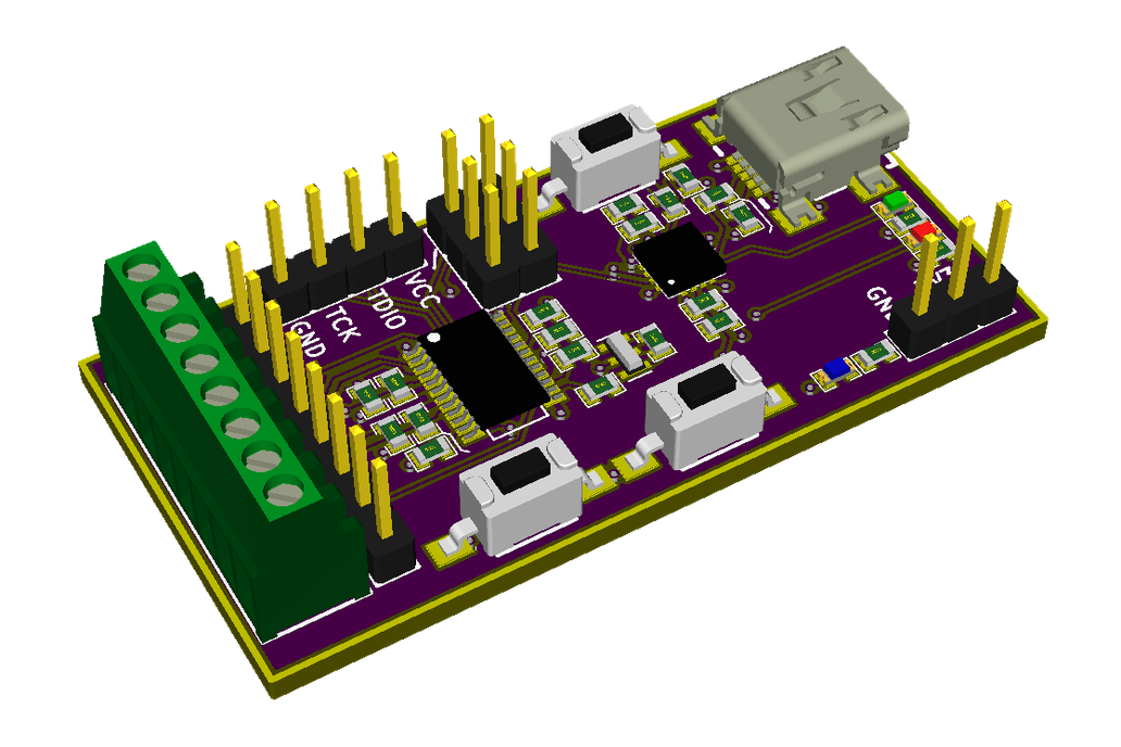 MSP430AFE253 Development Board 1