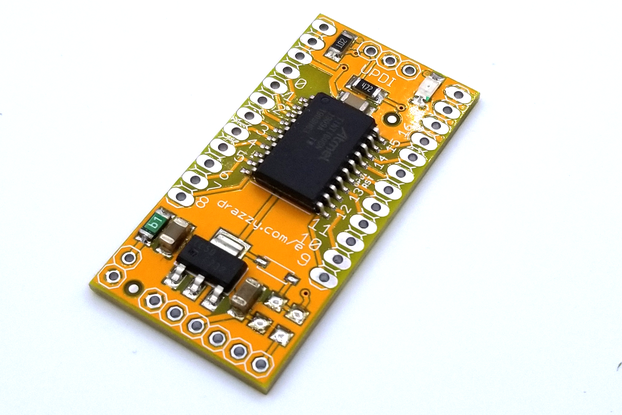 ATtiny3216/1606 dev board, Arduino compatible