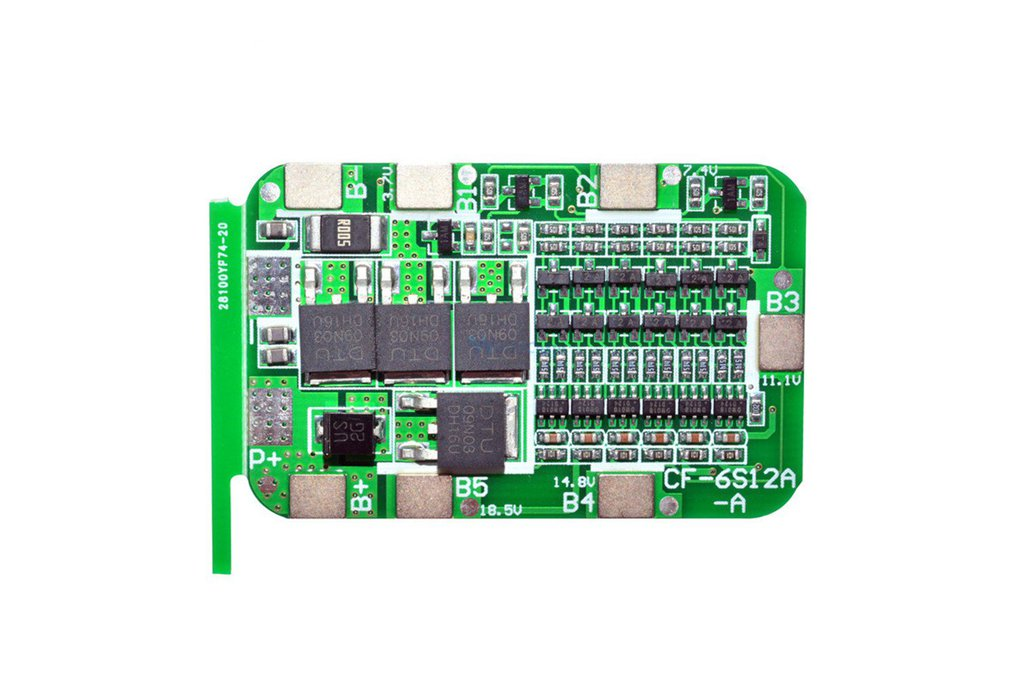 Protection Board For 6Pack 18650 Lithium Battery  1