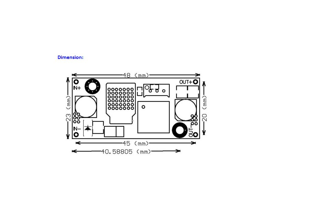 2pc DC-DC Buck Converter Step Down Module  2