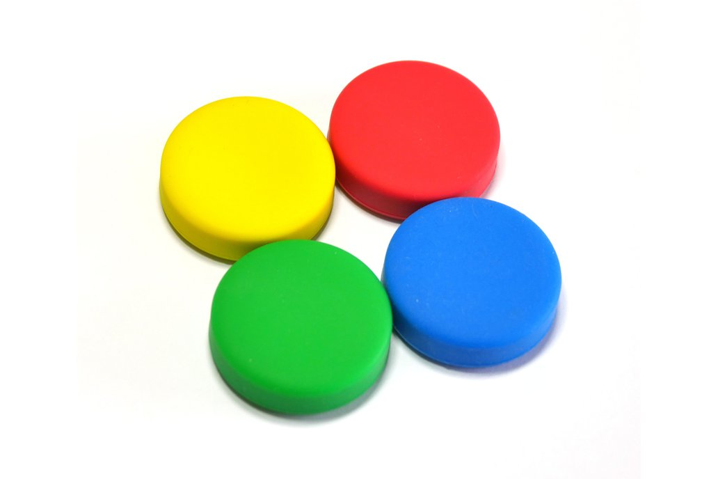 Puck.js cases (Red, Yellow, Green, Blue) 1