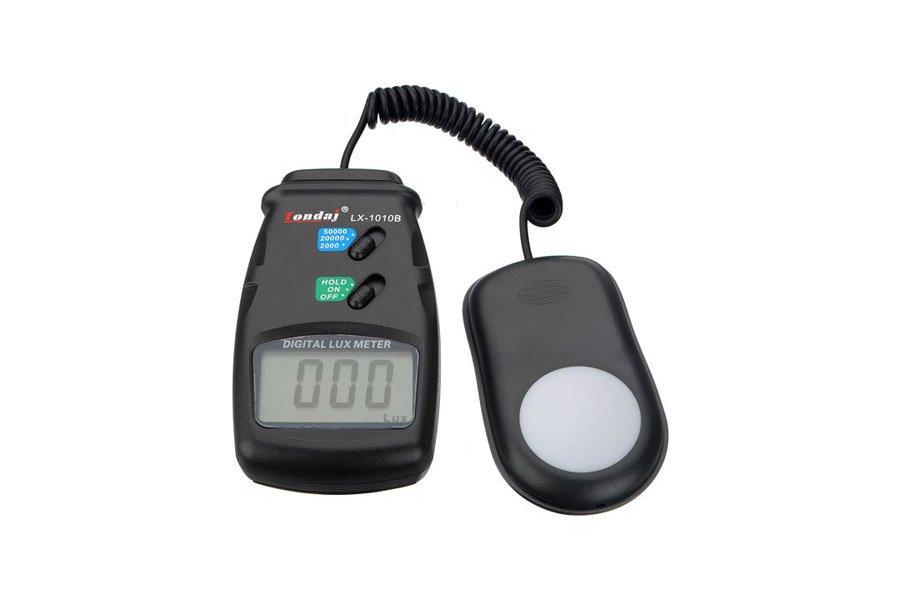 Professional LX1010B Digital LCD Light 50000 Lux