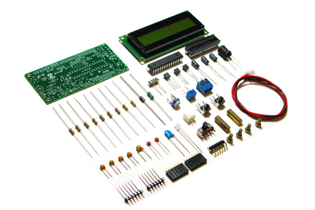 DIY Arduino IDE Geiger Counter Kit with UART log 1