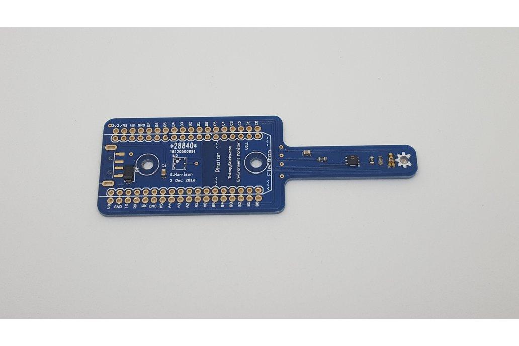 Environment Sensor for the Photon or Electron. 3