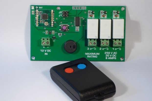 Rolling Code Transmitter and Receiver