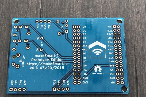 NodeMCU ESP8266 I2C Breakout Board