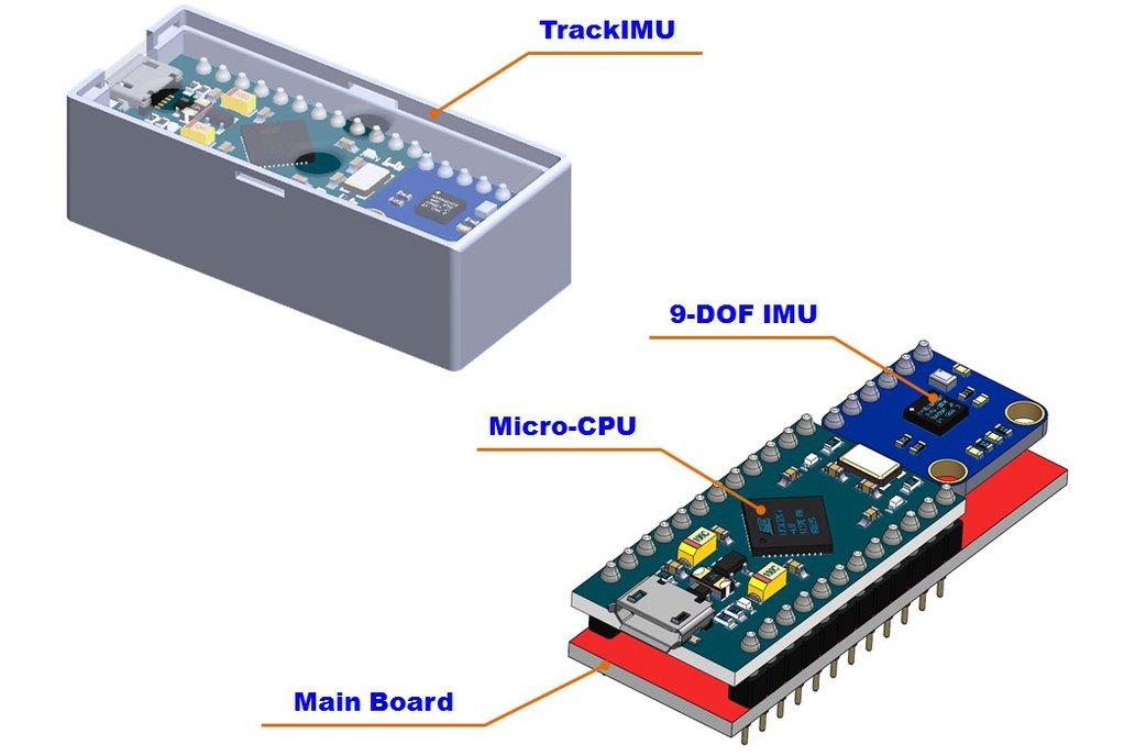 TrackIMU (DIY Kit): IMU-Based Wearable Head Track 4