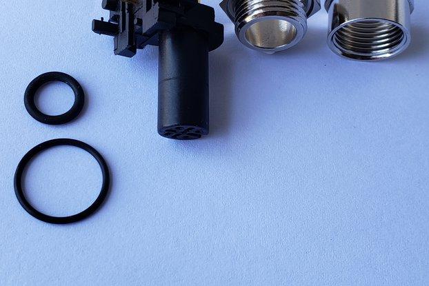 TE 3-2172079-2 M12 4 Position Circular Connector