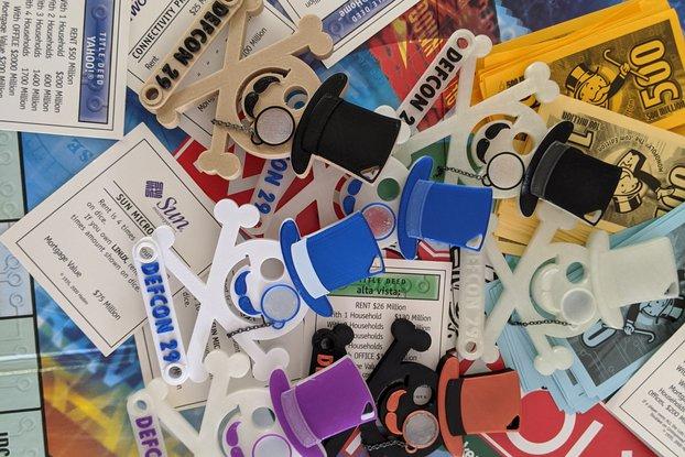 Monopoly Jack Badge - Defcon 29