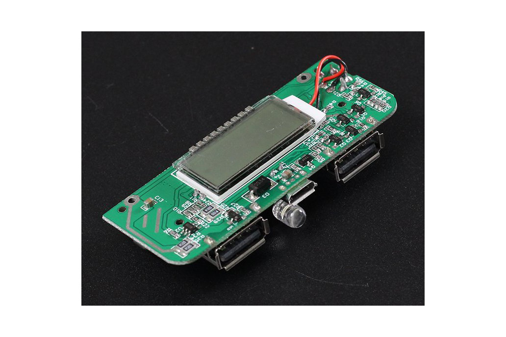 Two-USB Mobile Power Bank Charger PCB Board(6876) 4