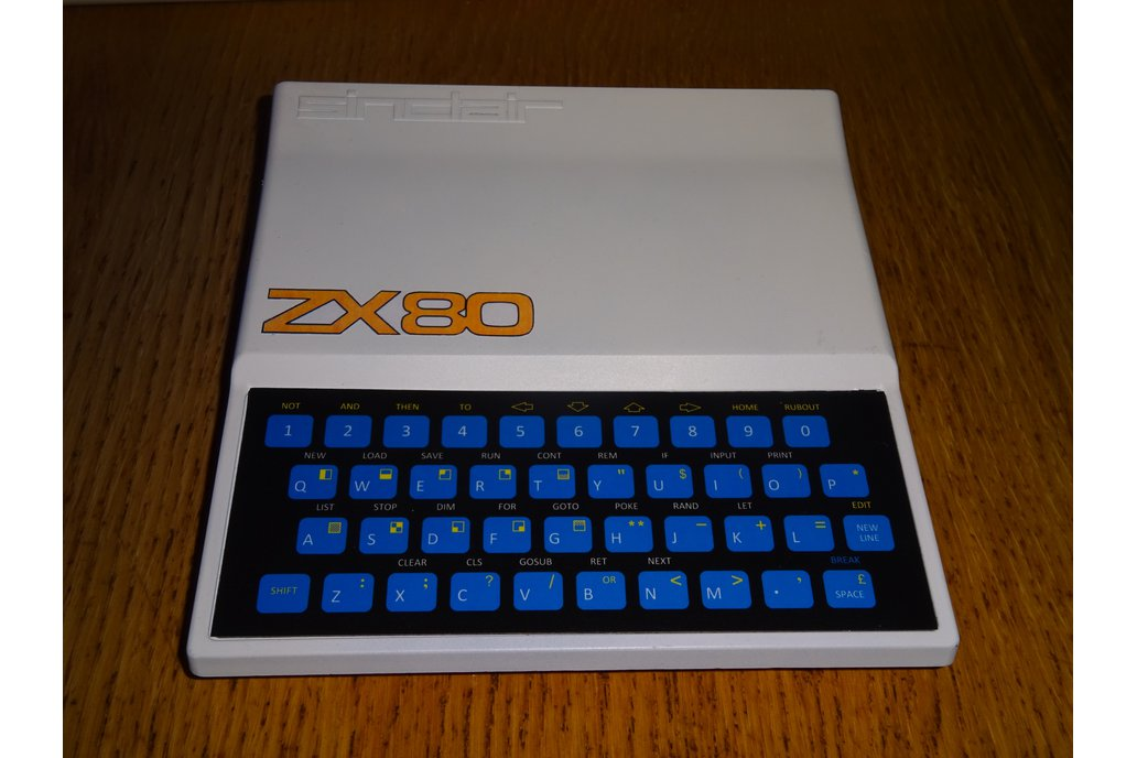 Minstrel ZX80 Clone in White ZX81 case 2