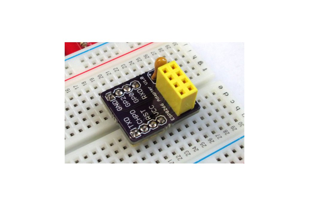 ESP8266 breadboard adapter 1