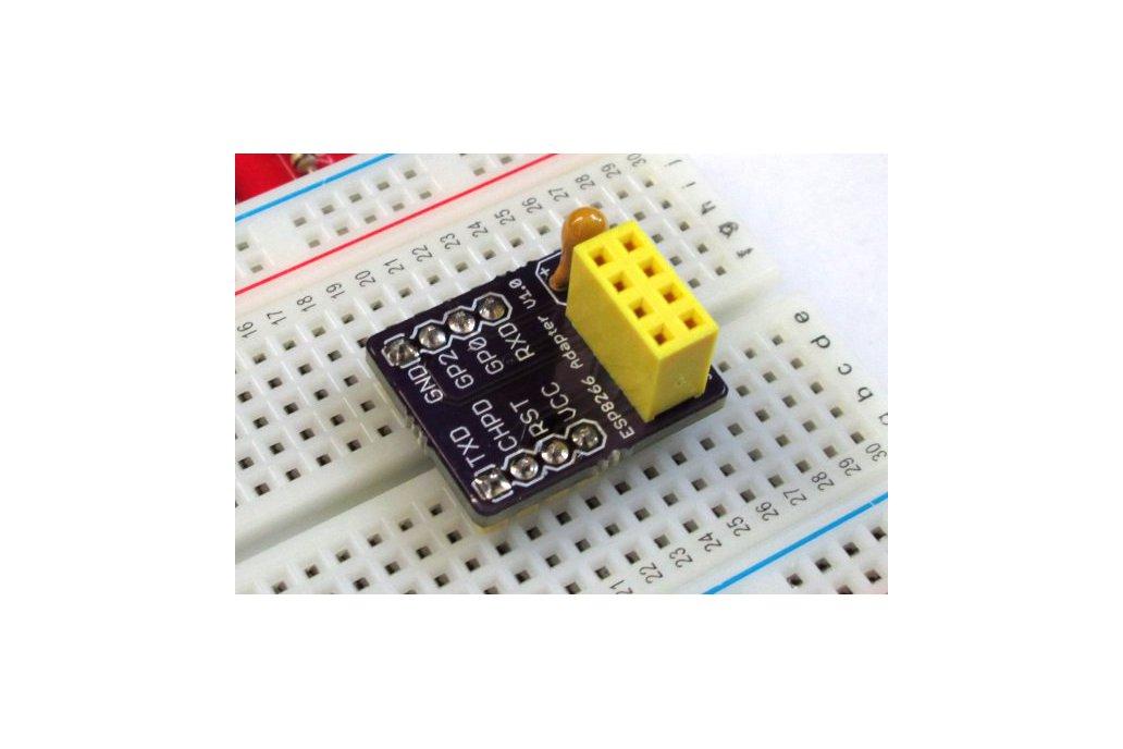 ESP8266 breadboard adapter 1