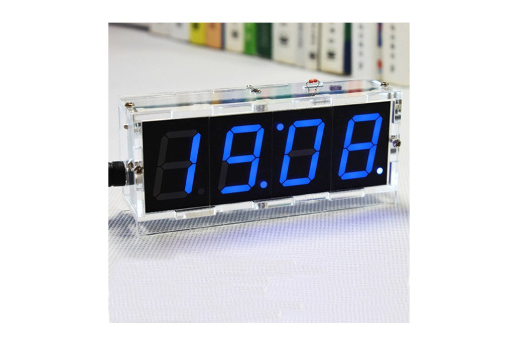 DIY 4 Digit LED Clock and thermometer 4