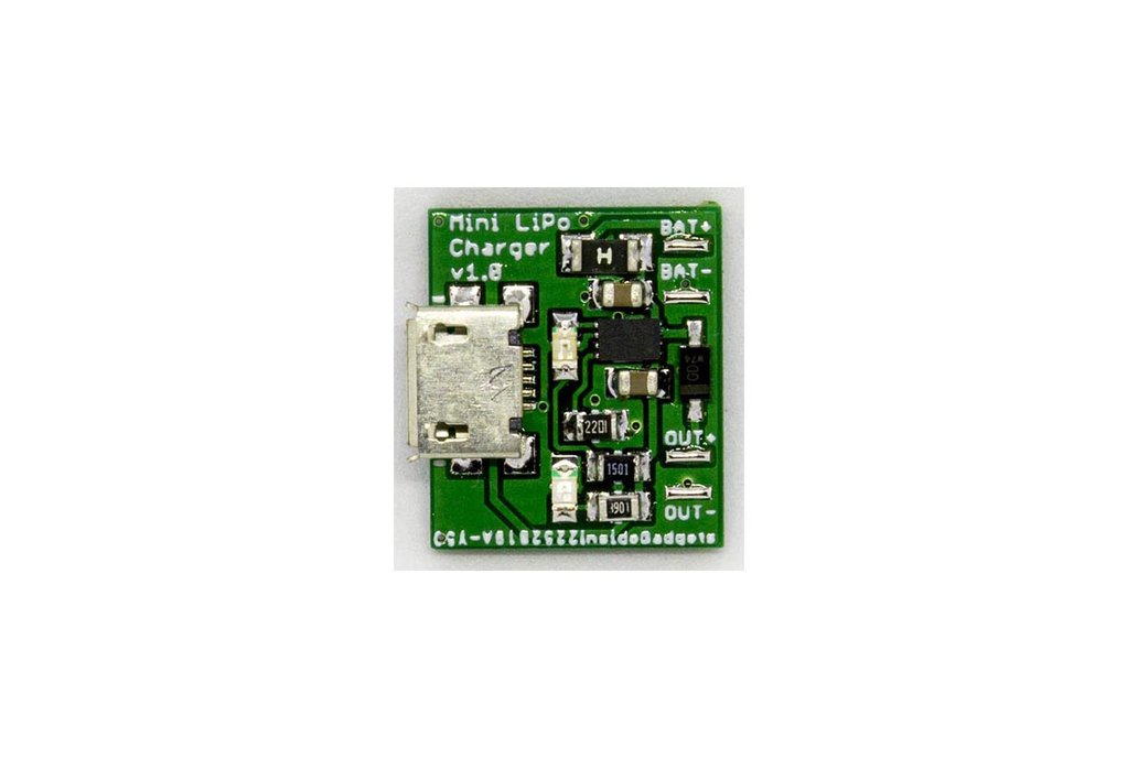 Mini LiPo Charger (for Gameboy DMG, mGB, GBC, GBA) 1