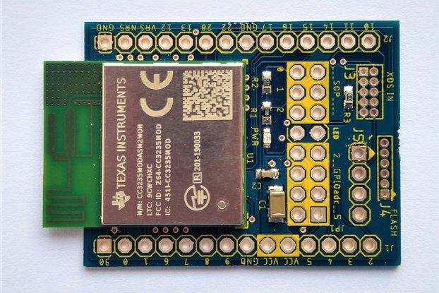 CC3235MODASM Maker Friendly WiFi Prototype Board