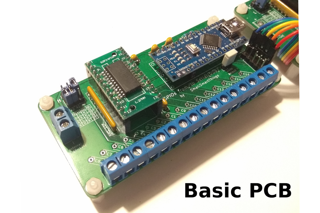 GPIOs from/to Serial (USB) module (16-48 ports) 1