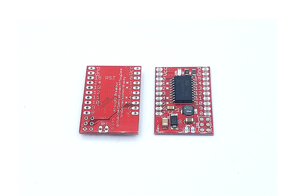 ATtiny43 w/integrated boost, Arduino compatible 1