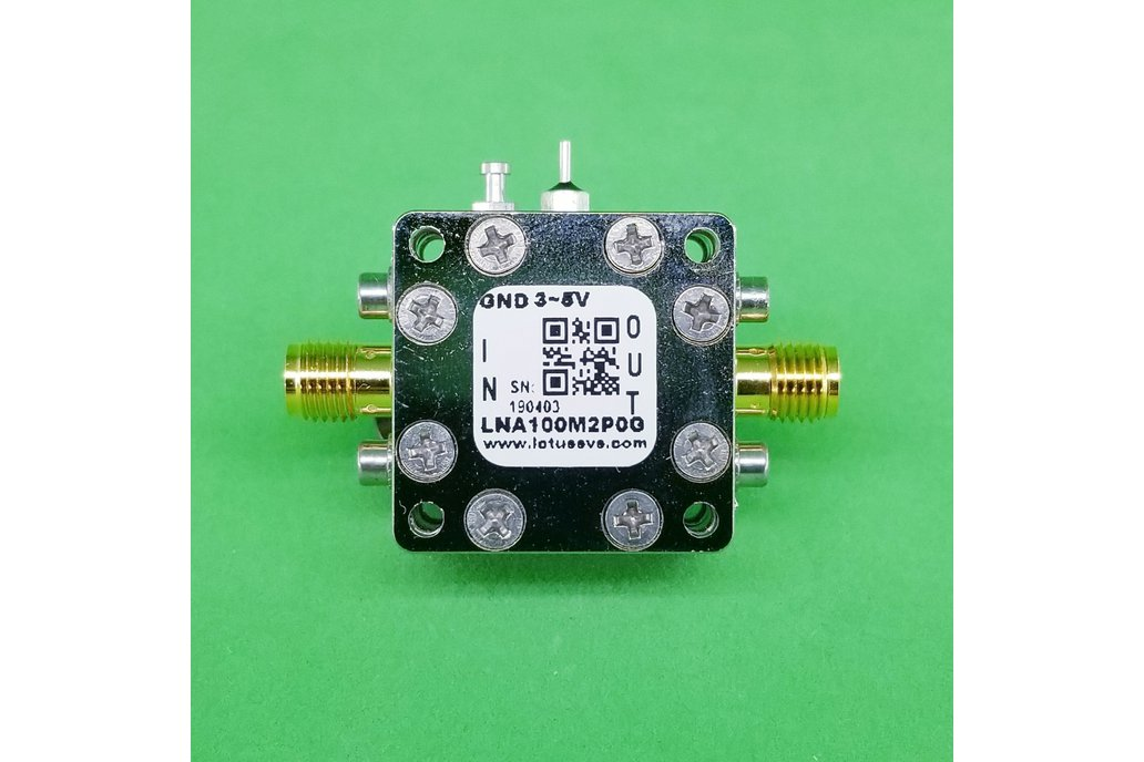 Amplifier LNA 0.45dB NF 100MHz to 2GHz 1