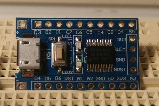 STM8 BASIC