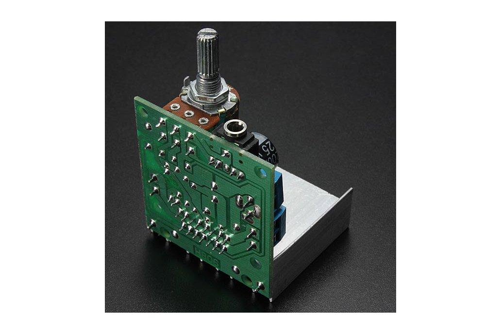 AC/DC 12V 2 x 15W TDA7297 Version B Digital Audio Amplifier Board Dual-Channel 6
