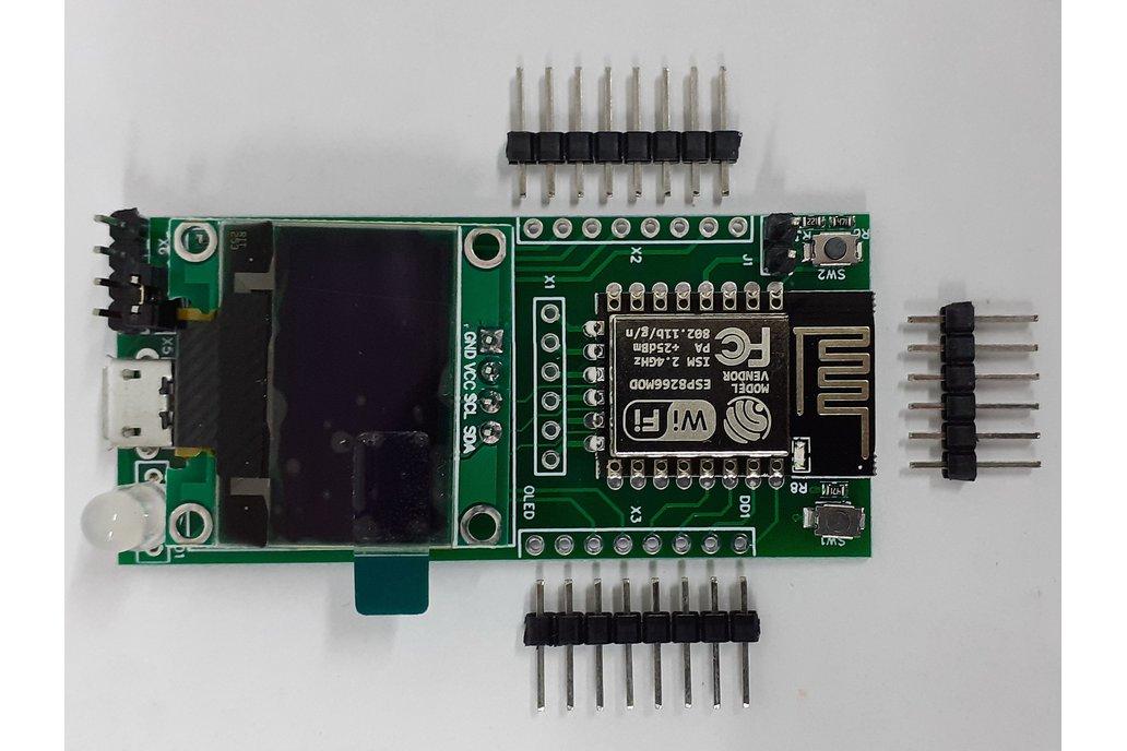 """ESP12.OLED - universal ESP8266+0.96""""OLED MCU board 1"""