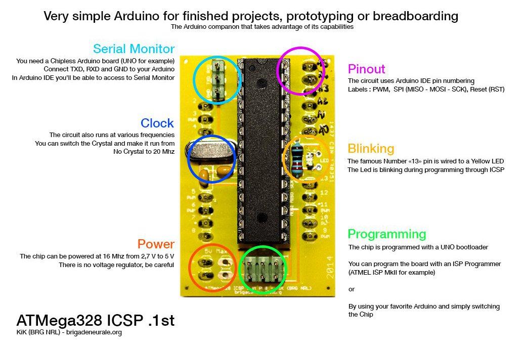 ATMEGA328 (ICSP) - Very simple Arduino 3