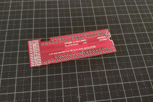 27C322 to SNES Rom adapter