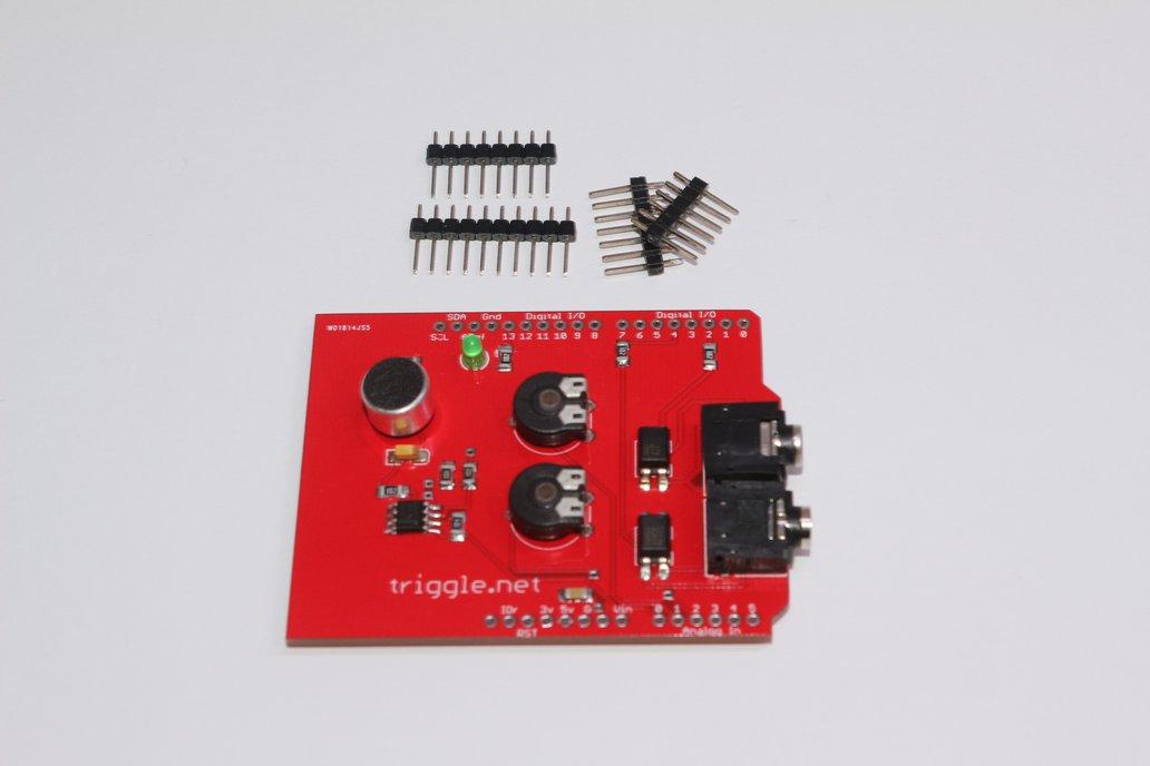 Sound Trigger Shield for Arduino 3