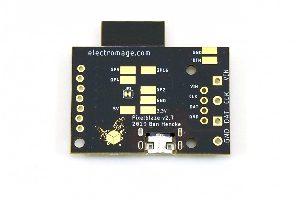 ElectroMage Pixelblaze V2+ WiFi LED Controller from ElectroMage on