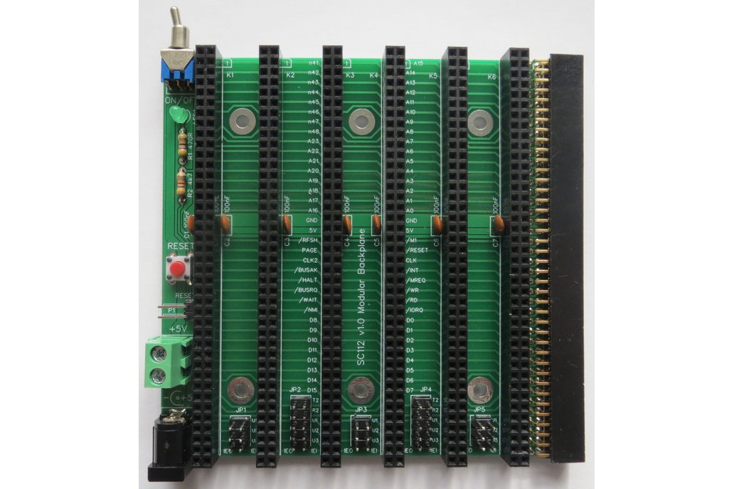 Modular Backplane Boards for RC2014 2