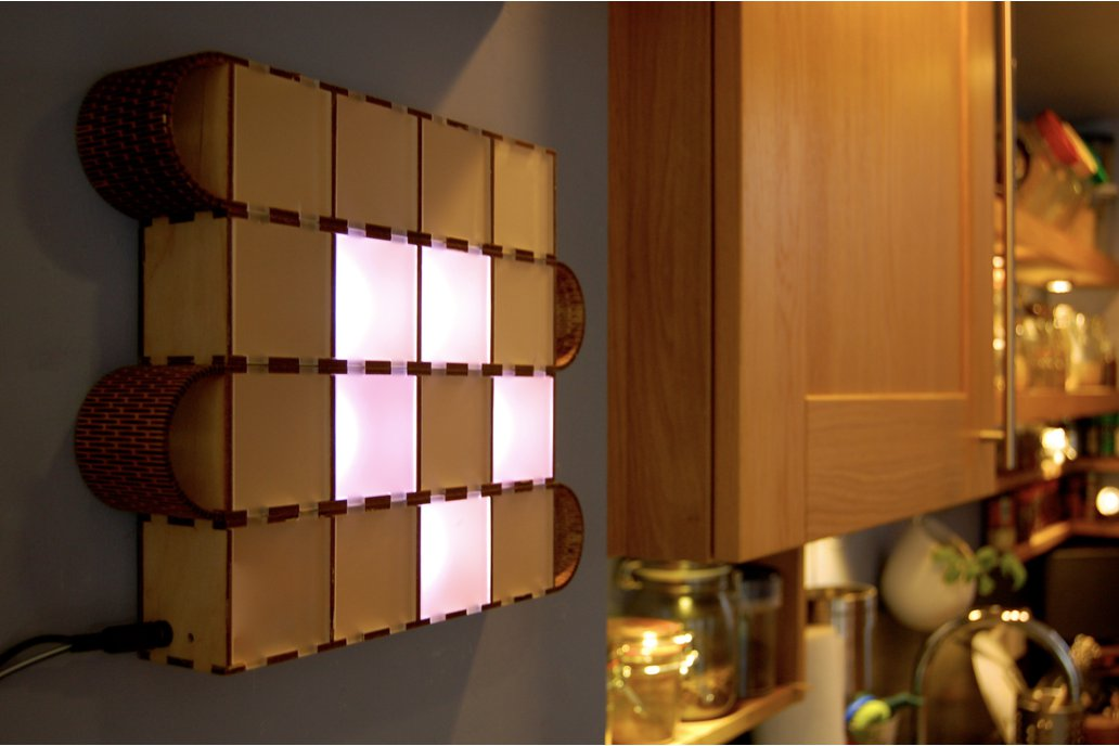 Wooden Bits - Wall Binary Clock 1