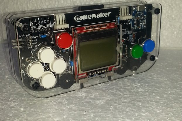 Gamemaker - atmega 328 based