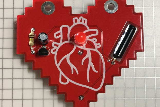 Hearty Badge self-assembly kit