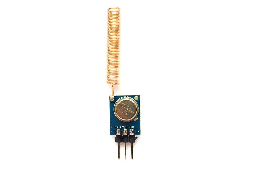 433MHz ASK RF transmitter/receiver kit 2
