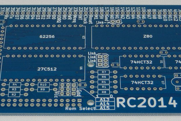 RC2014 Mini 1.0 PCB