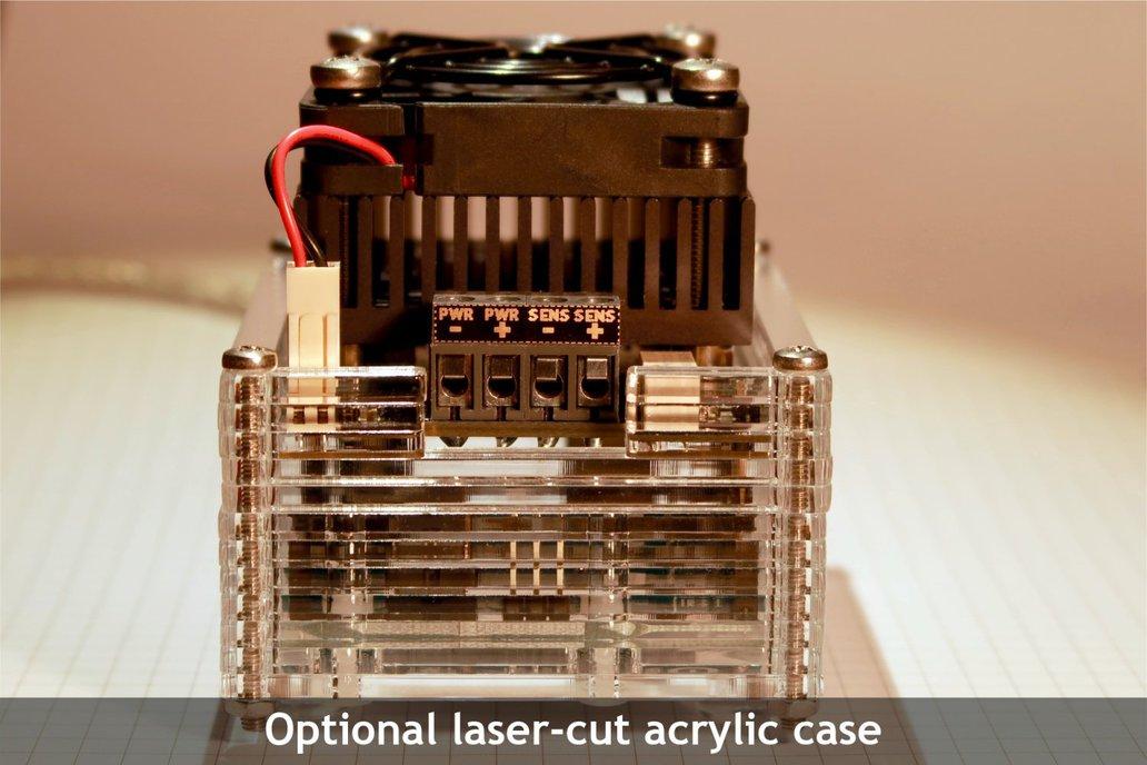 MightyWatt: 70W Electronic Load for Arduino 6