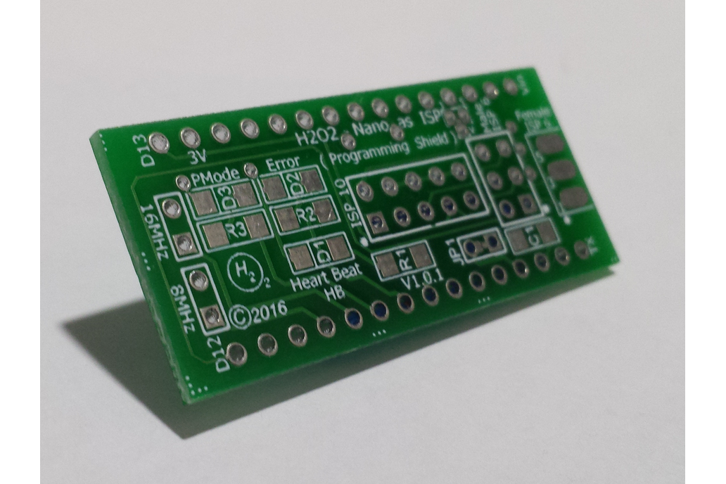 H2O2-Nano As ISP Shield - PCB Only 1