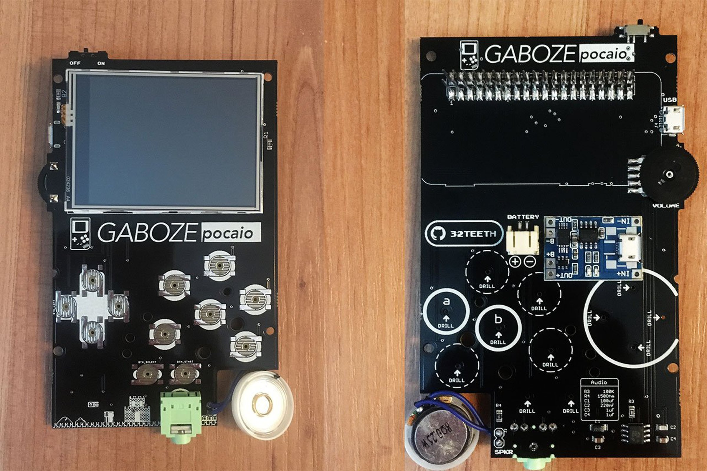 Gaboze Pocaio - Game Boy Pocket All In One - sudomod