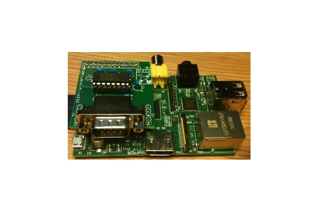 Raspberry PIIO - MiniPiio RS232 add-on board 1