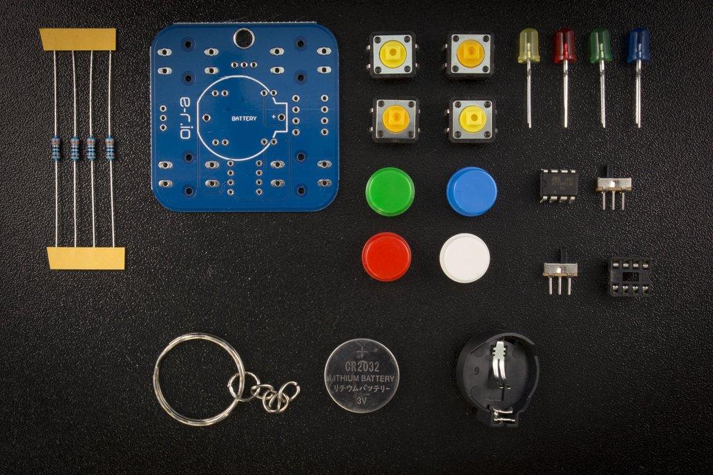 Simon says - DIY Learn to solder KIT 1