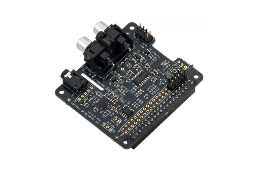 Pi-DAC+ Full-HD audio card 2