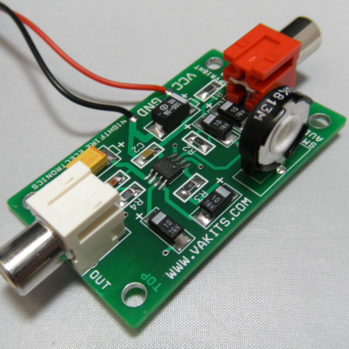 Lm386 Smt Audio Amp Kit 1700 From Nightfire Electronics Llc On Tindie Stereo Amplifier Circuit
