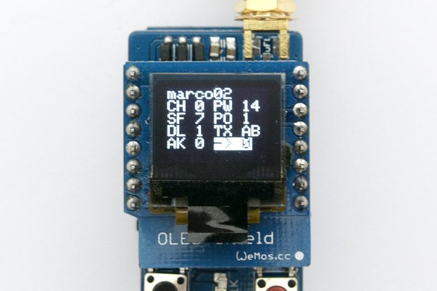 Lora Node 1.3 - 868Mhz - Kit